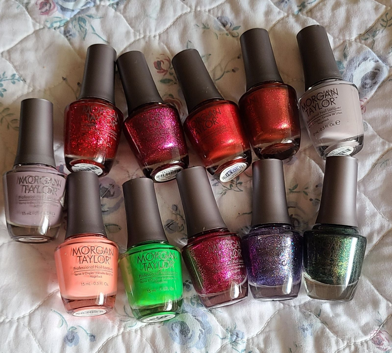 Morgan Taylor Nail Polish Bundle