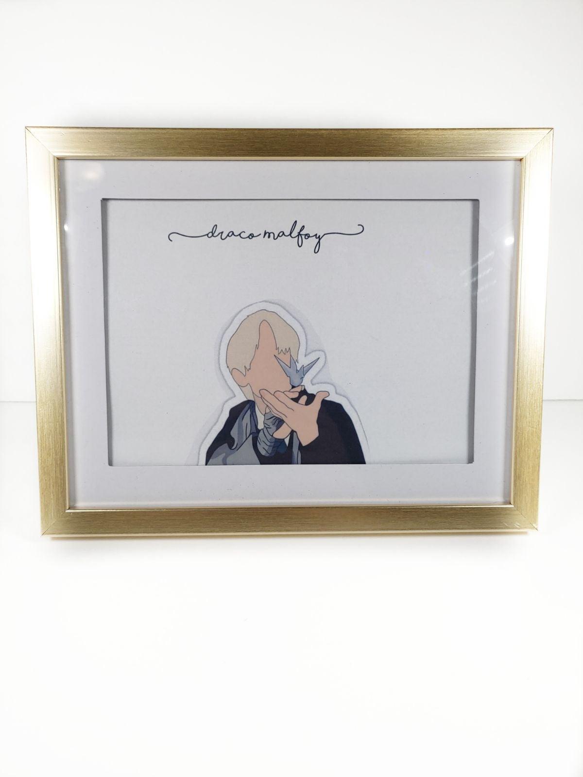 Harry Potter Draco Malfoy  art frame
