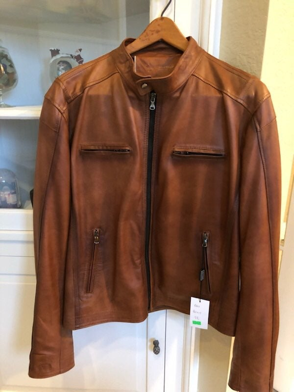 Italian Men's Leather Jacket