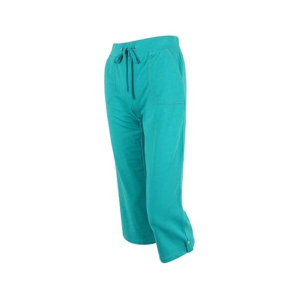 Karen Scott Women's Straight Leg Pull-On