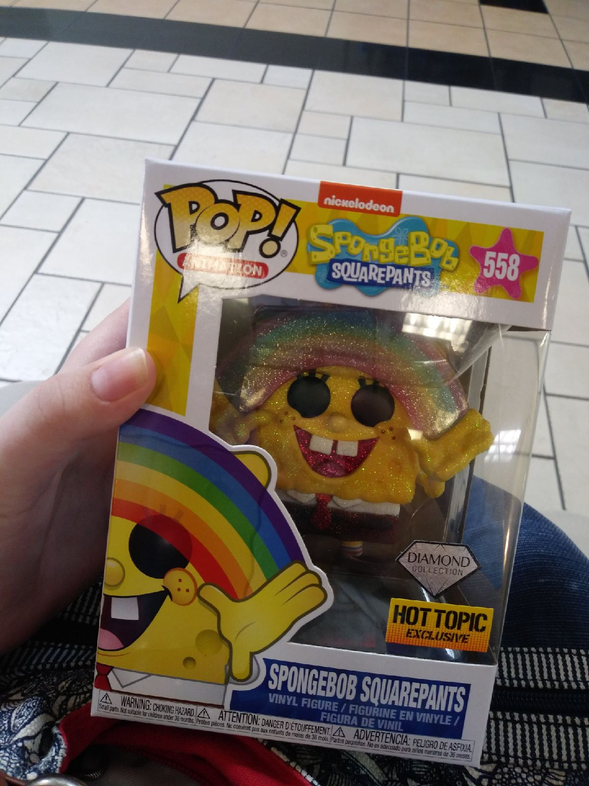 spongebob Funko pop