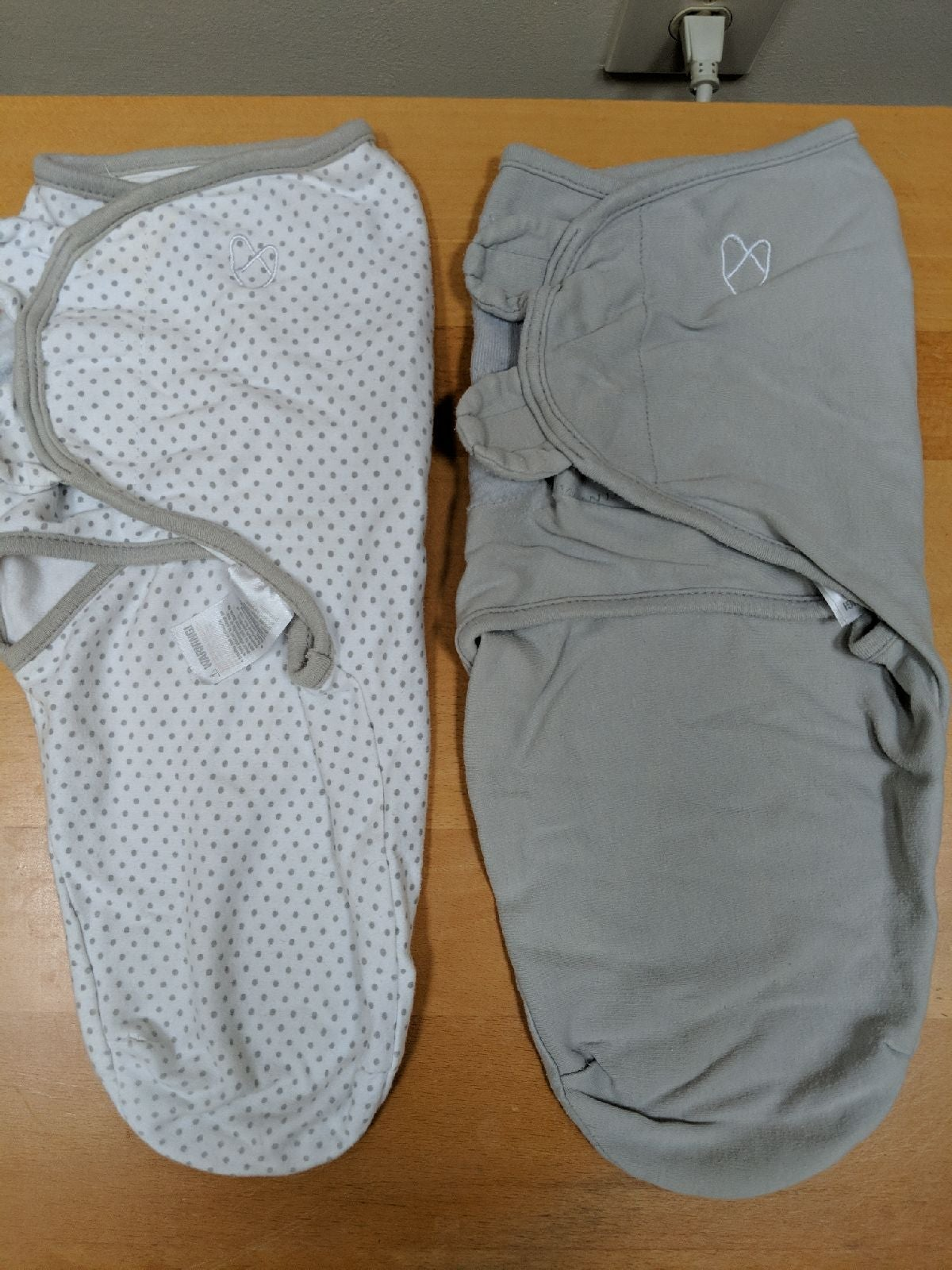 SwaddleMe: 2 swaddles in good condition