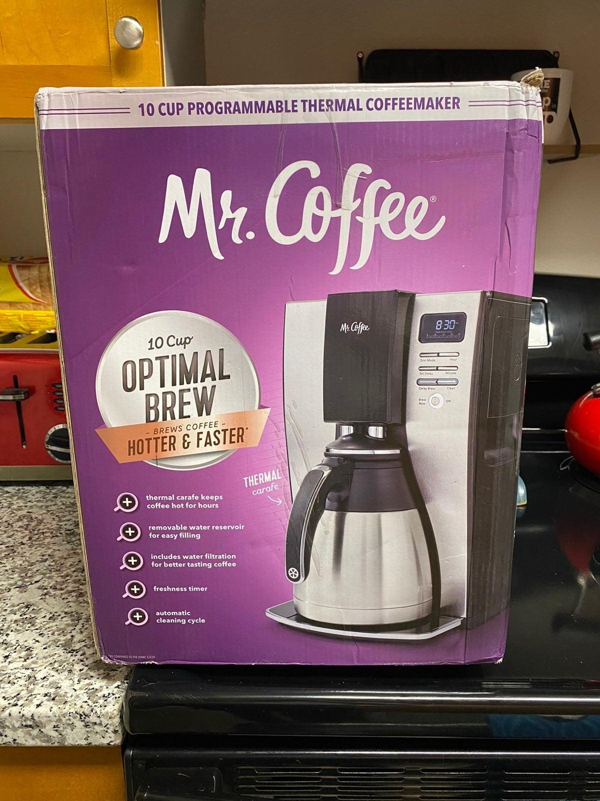 New Mr. Coffee Optimal Brew