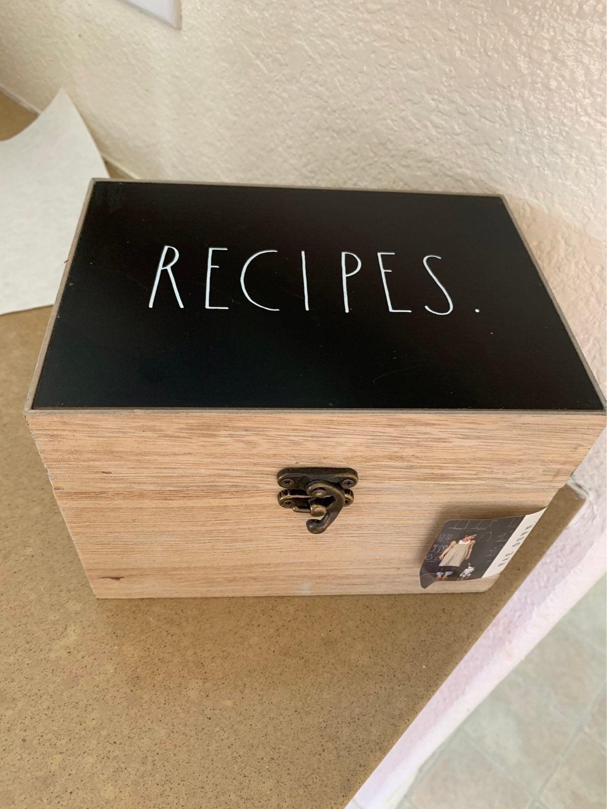 Rae Dunn recipes Box