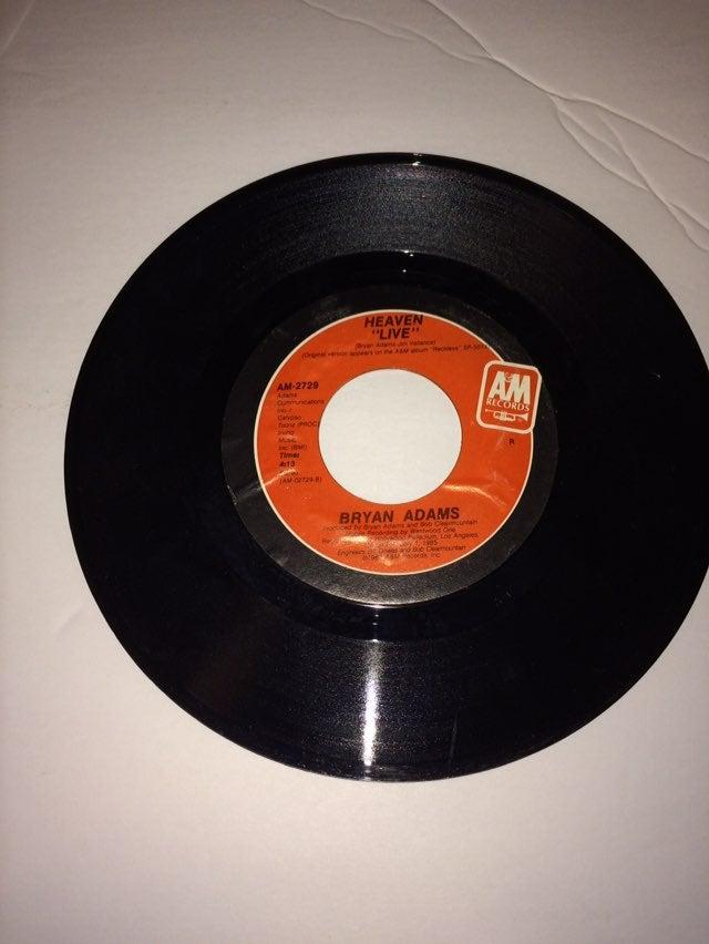 Bryan Adams 45 rpm vinyl record