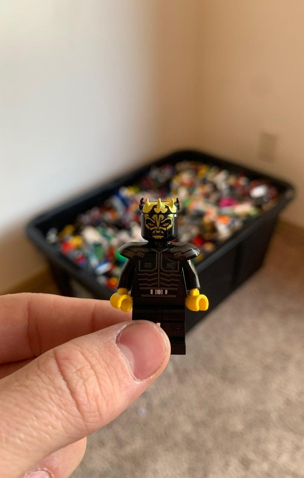 LEGO Lot- 300 Piece + Starwars Minifig