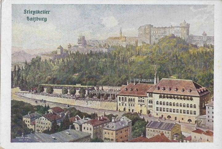 Ephemera Austria Salzburg Stieglkeller