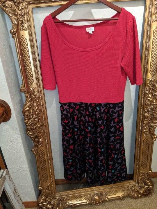 LulaRoe Nichole Dress 2X