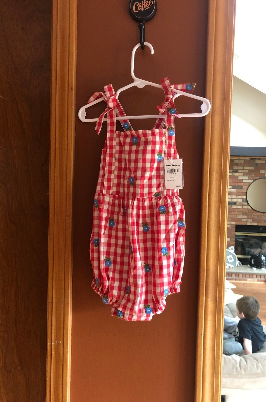 Hanna Andersson Romper, Size 90