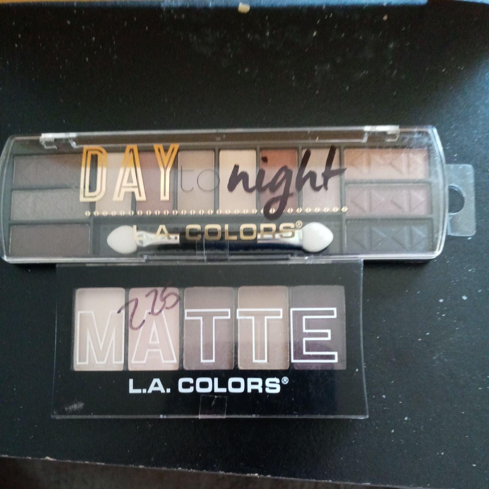 La colors eye shadow palettes