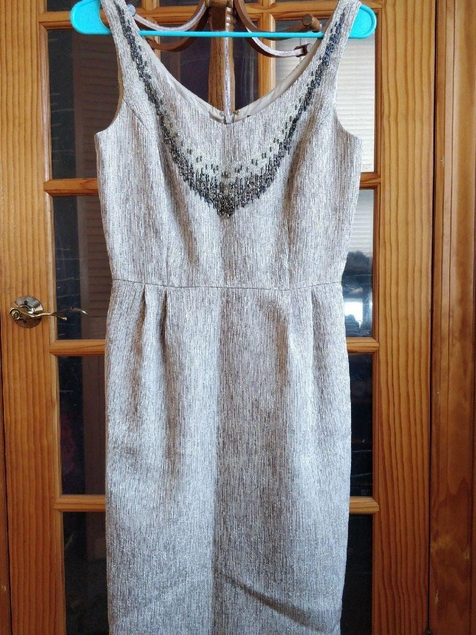 Tahari Arthur S Levine sleeveless dress
