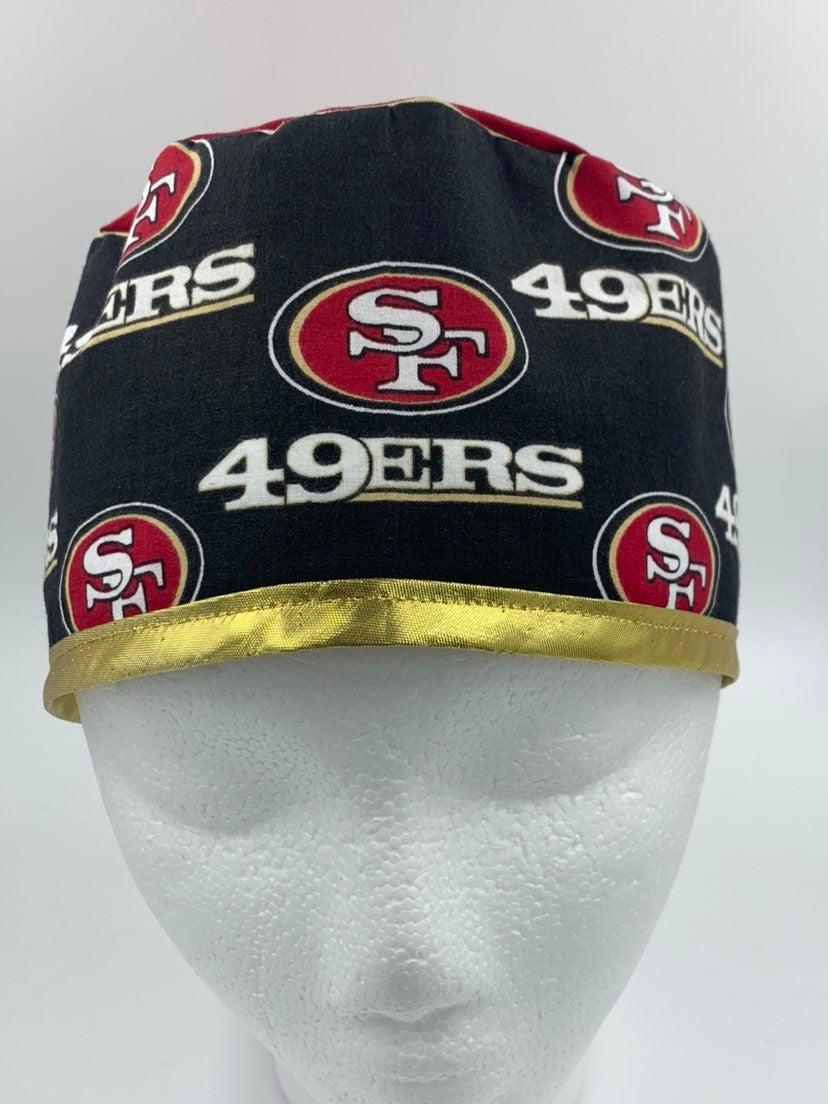 San Fracisco 49ers Scrub Cap/ surgical