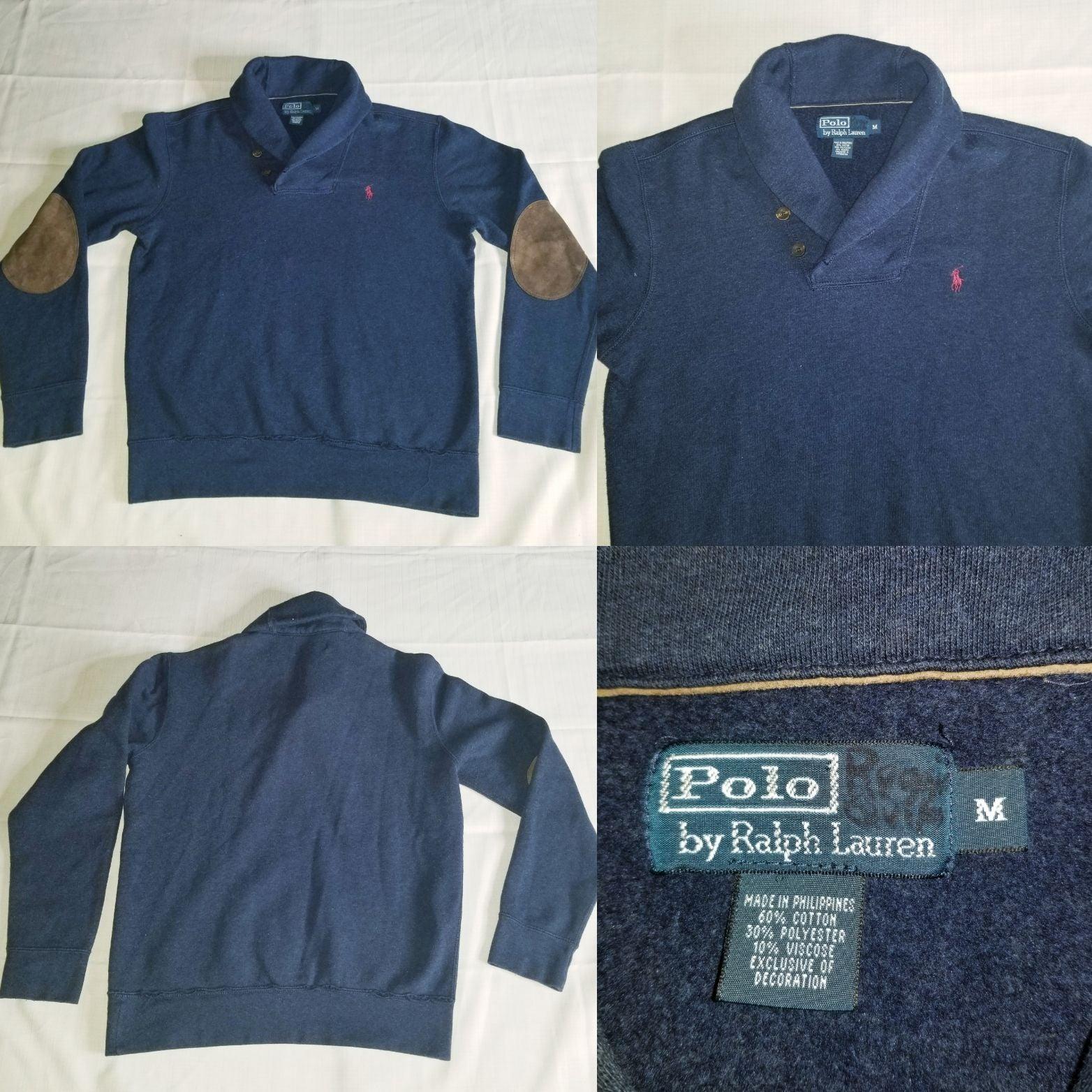 Polo Ralph Lauren Shawl Collar Sweater L