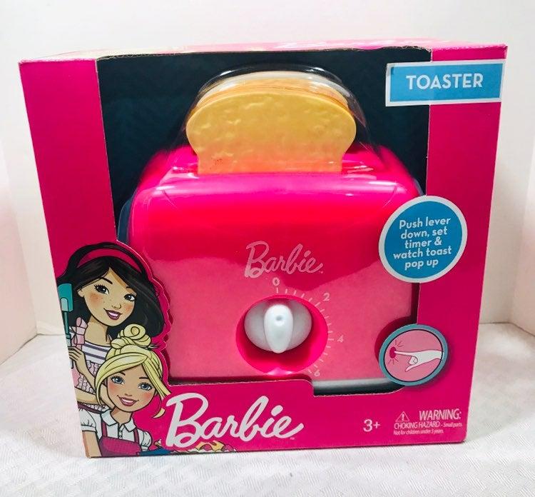 Barbie Kitchen Playset Toaster Pink