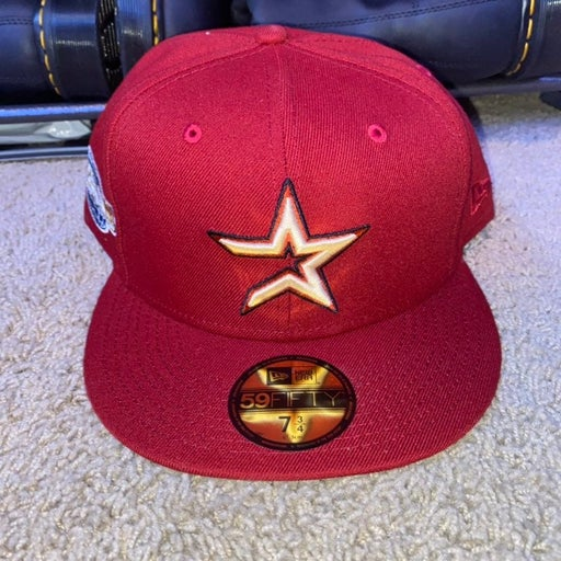 New Era 59Fifty Houston Astros '2005 World Series Patch' Size 7 3/4