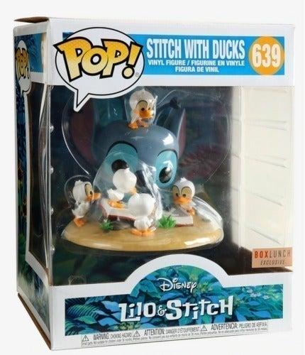 Funko pop Lilo & Stitch Stitch with Duck