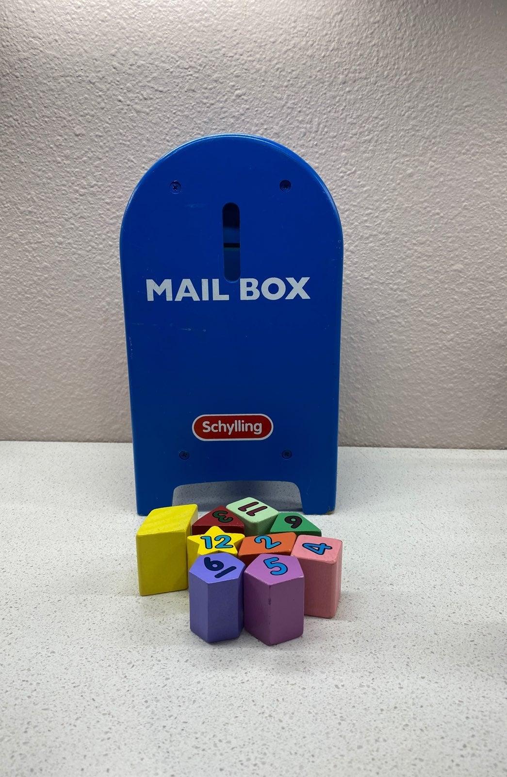 Vintage Schylling Postal Station Mailbox
