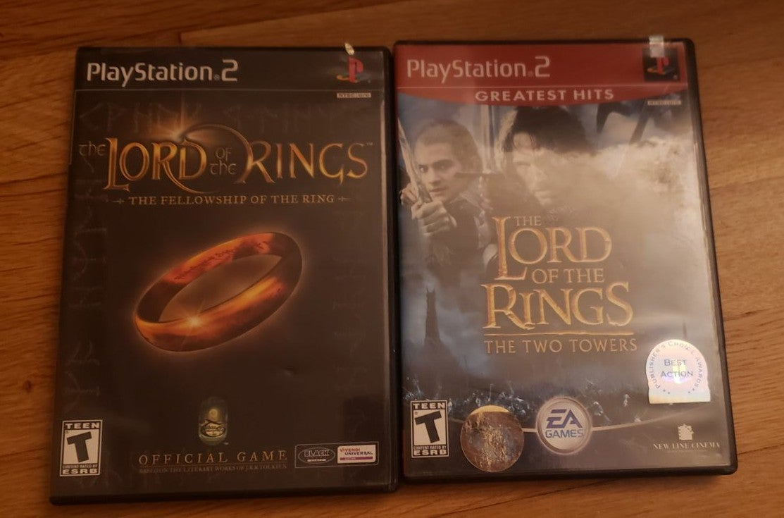 Lord of The Rings Games Pack - PS2