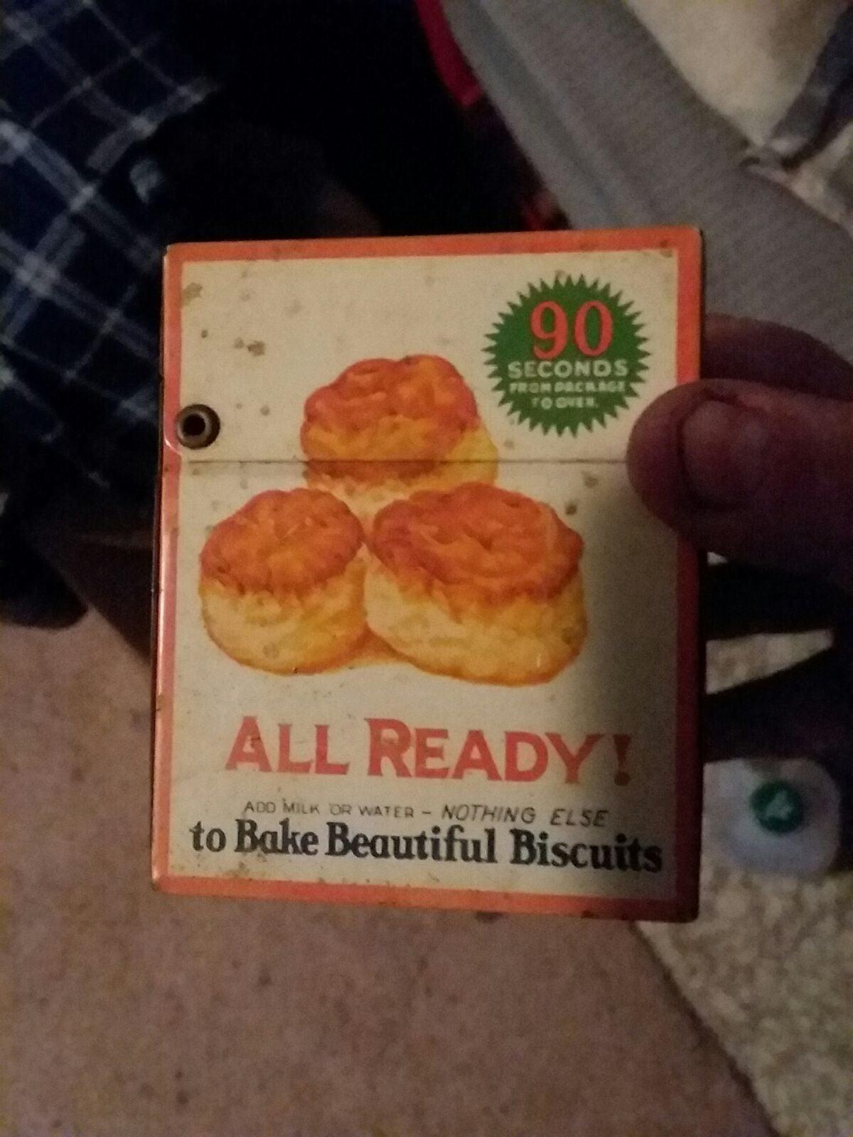 betty crocker vintage tin for recipes