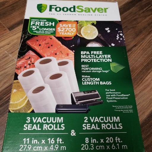 Food Saver Vacuum Sealer Rolls