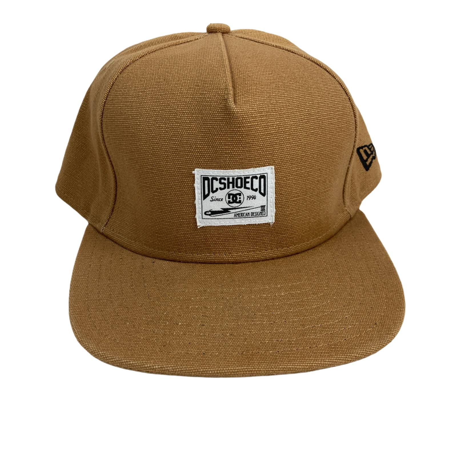 New ERA DC Shoe Brown Snapback Hat