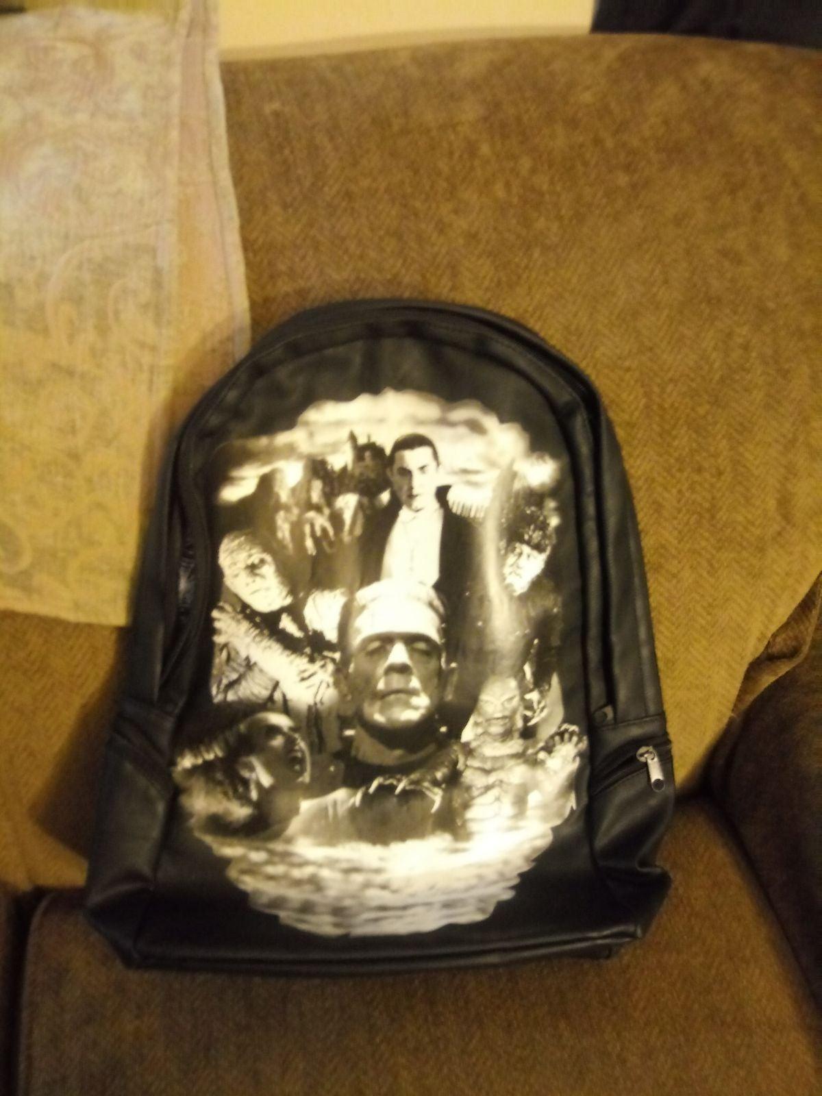Rock Rebel Universal Monsters Backpack