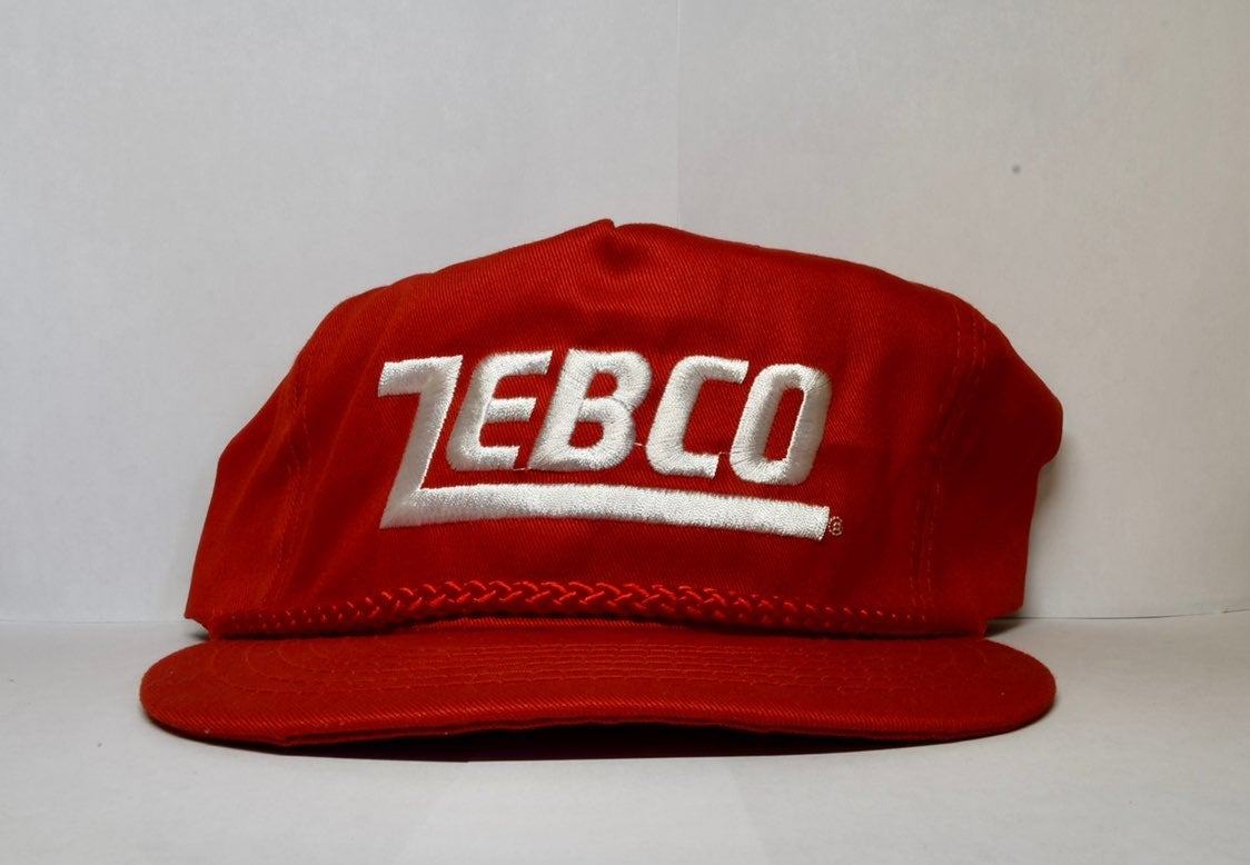 Vintage Zebco Fishing Hat