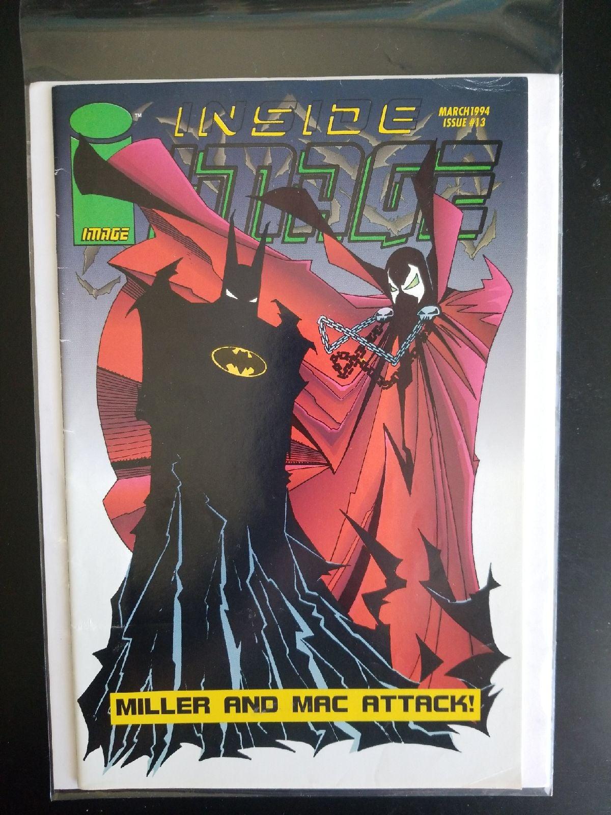 Inside Image #13 Batman Spawn 1994