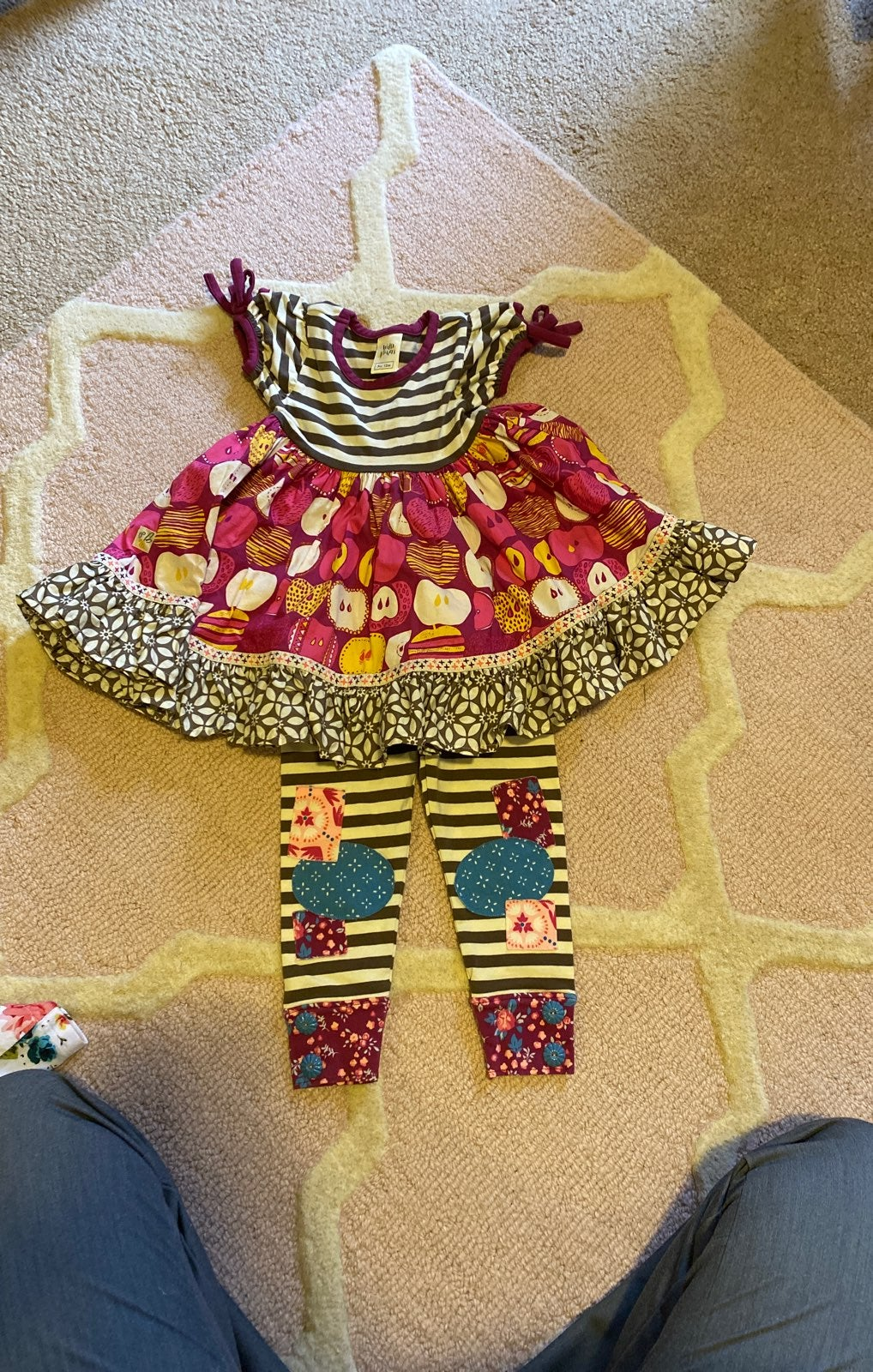 Wild Flowers outfit 12mo