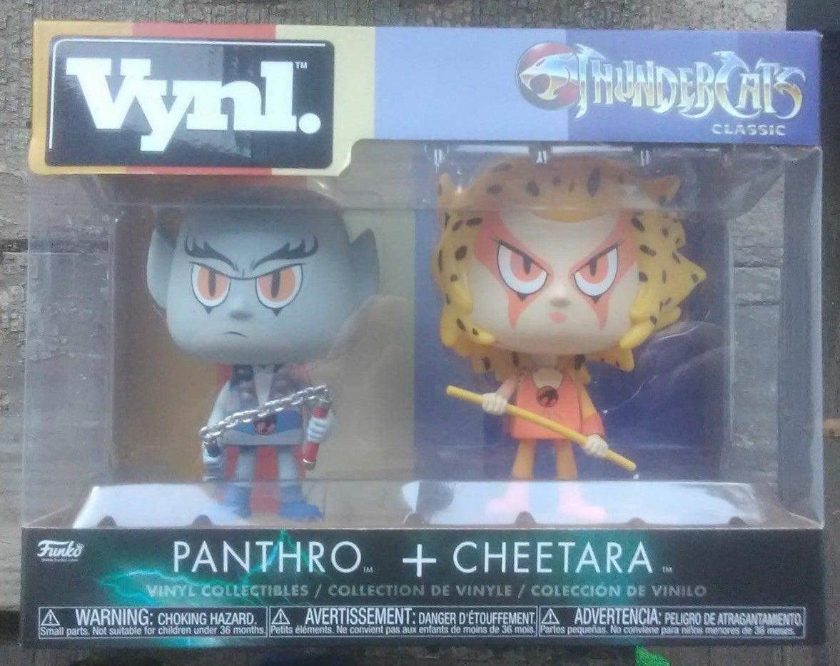 Vynl. Thundercats Panthro & Cheetara.
