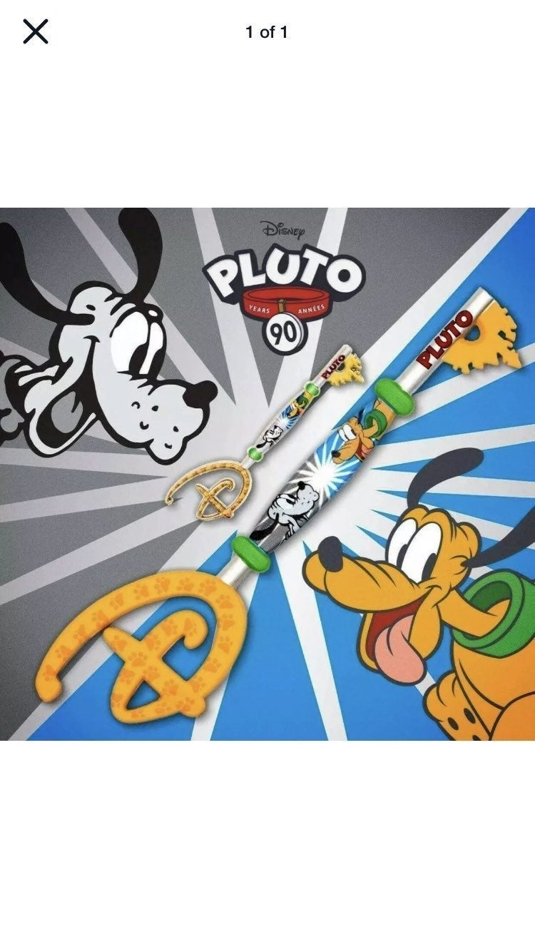 Disney 90th anniversary pluto key