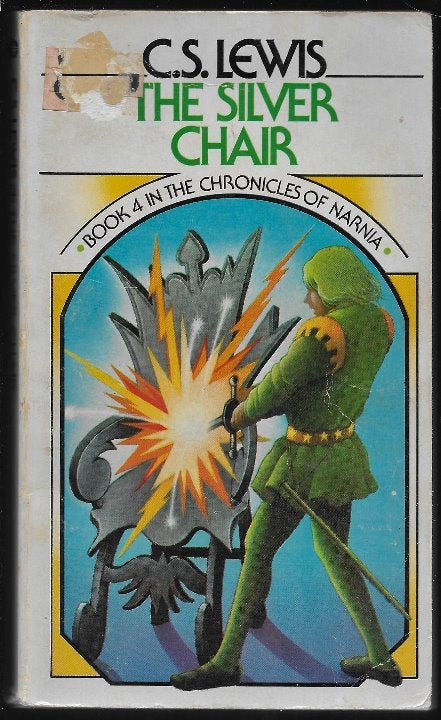 Silver Chair PB Narnia #4 C S Lewis 1970