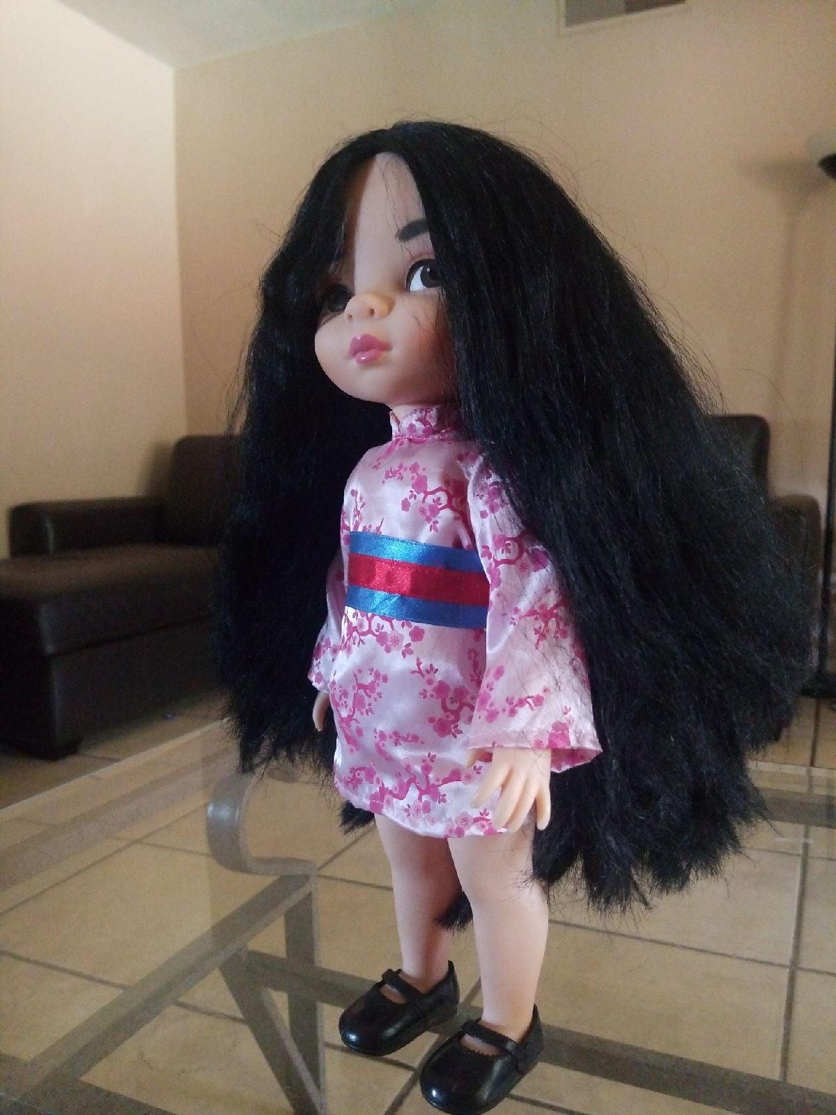 Mulan Disney Animators Doll