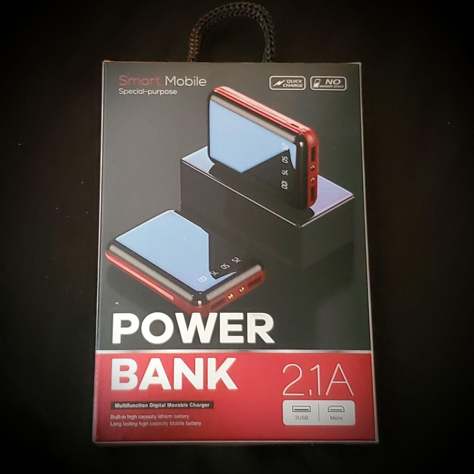 New! Dual USB MIni Portable Charger!