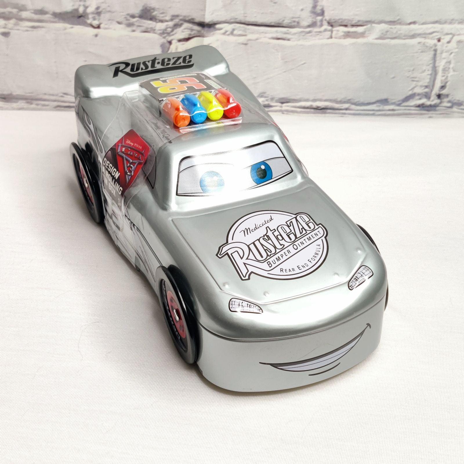 Disney Cars Mcqueen Tin Box Figure