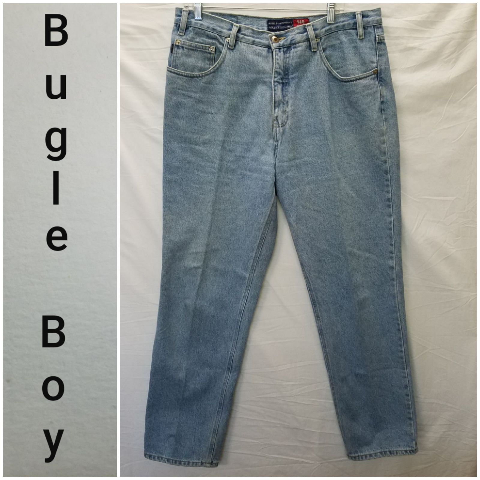 Bugle Boy Mens relaxed fit jeans