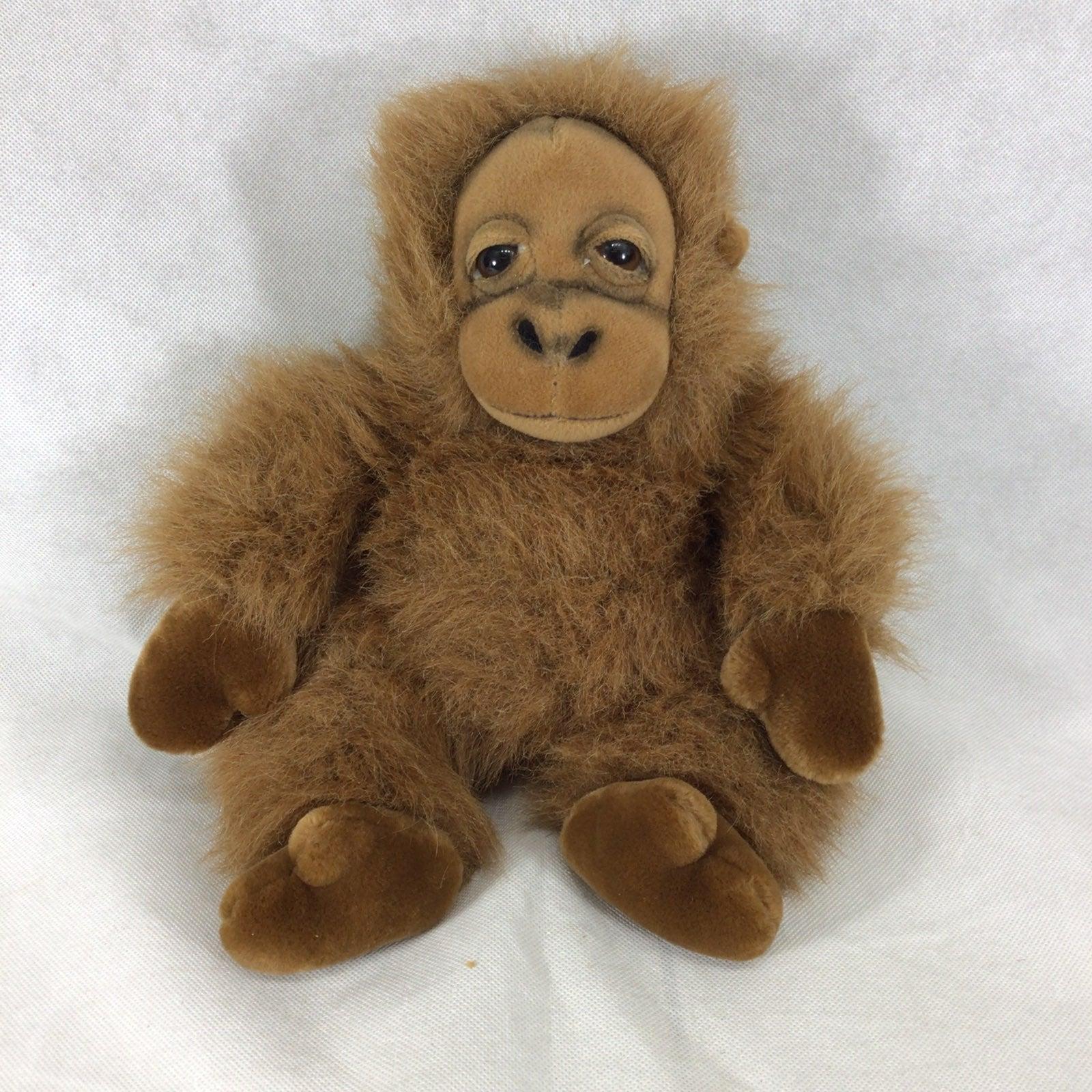 """Russ Berrie 13"""" baby gorilla Bongo J1"""
