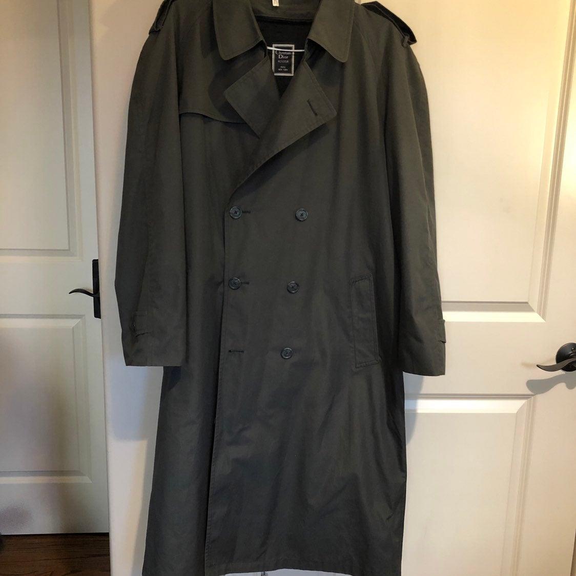 Trench Coat Dior Mens 44L