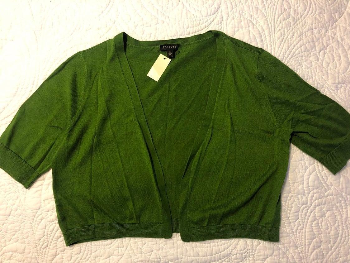 Green Dress Shrug