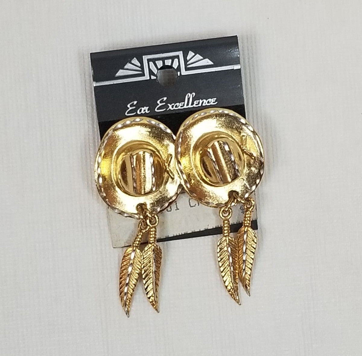 Ear Excellence Cowgirl Feather Earrings