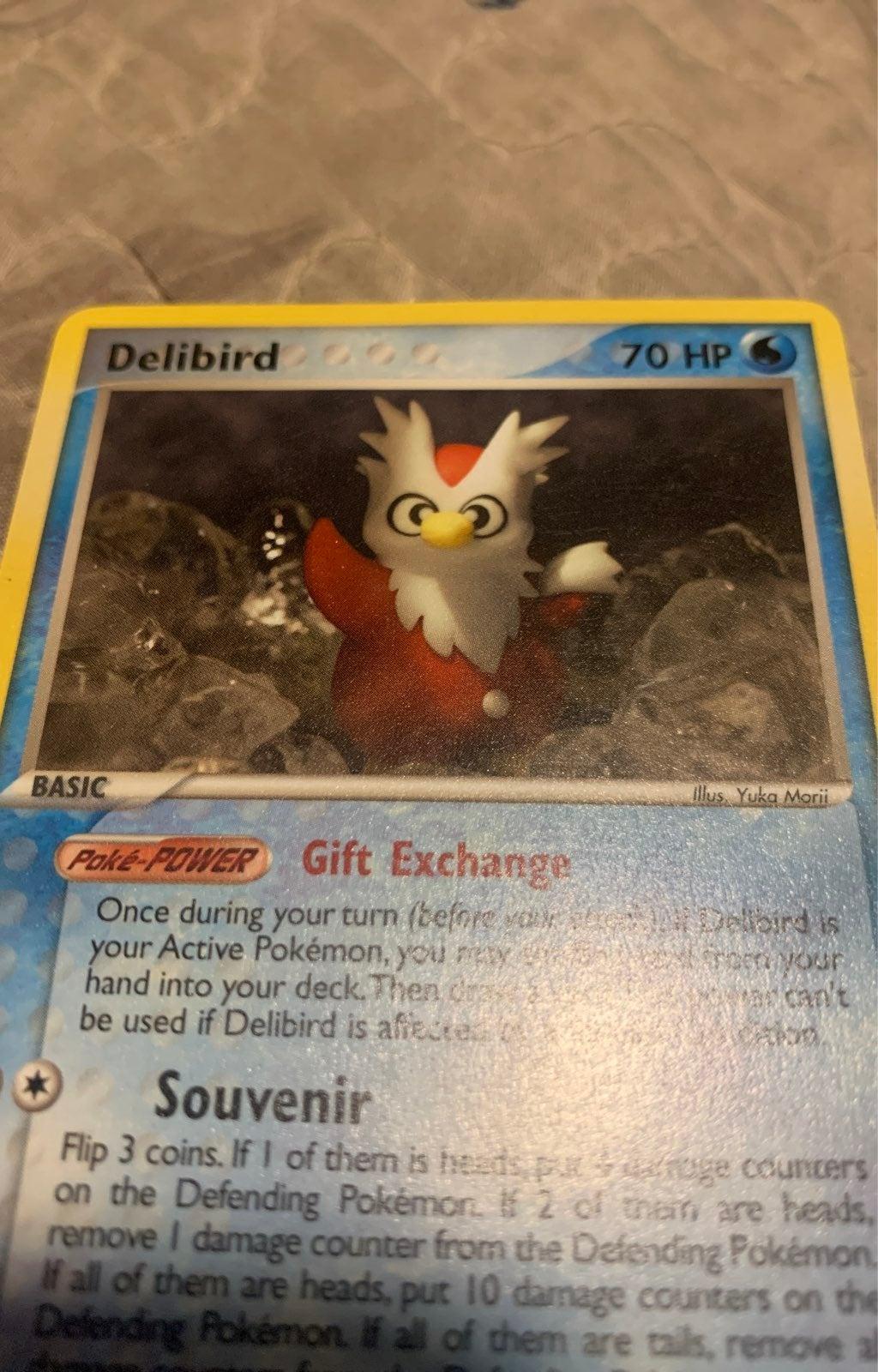 Delibird 21/109 Pokemon Card