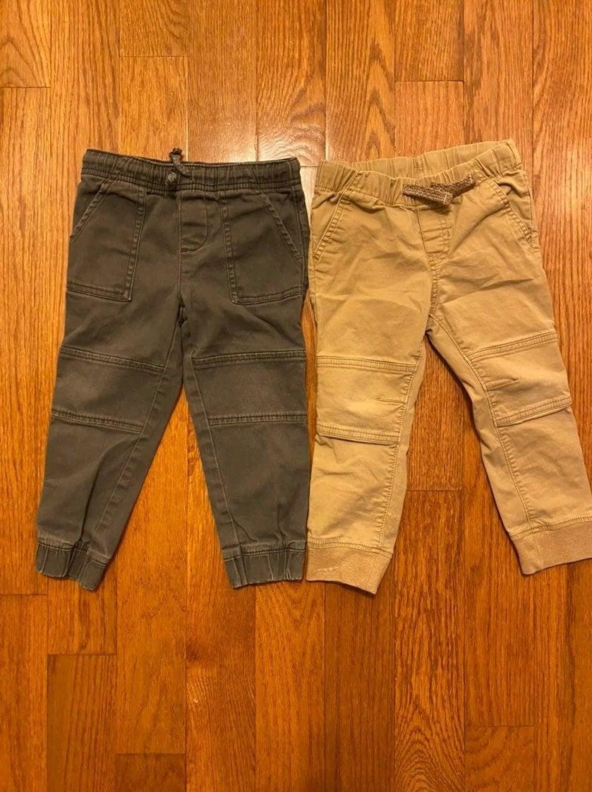 3T boys jogger pants bundle