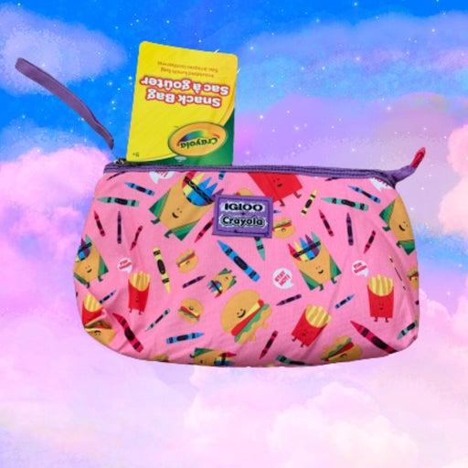 """Snack bag Crayola Igloo 10.5""""x6.5"""""""