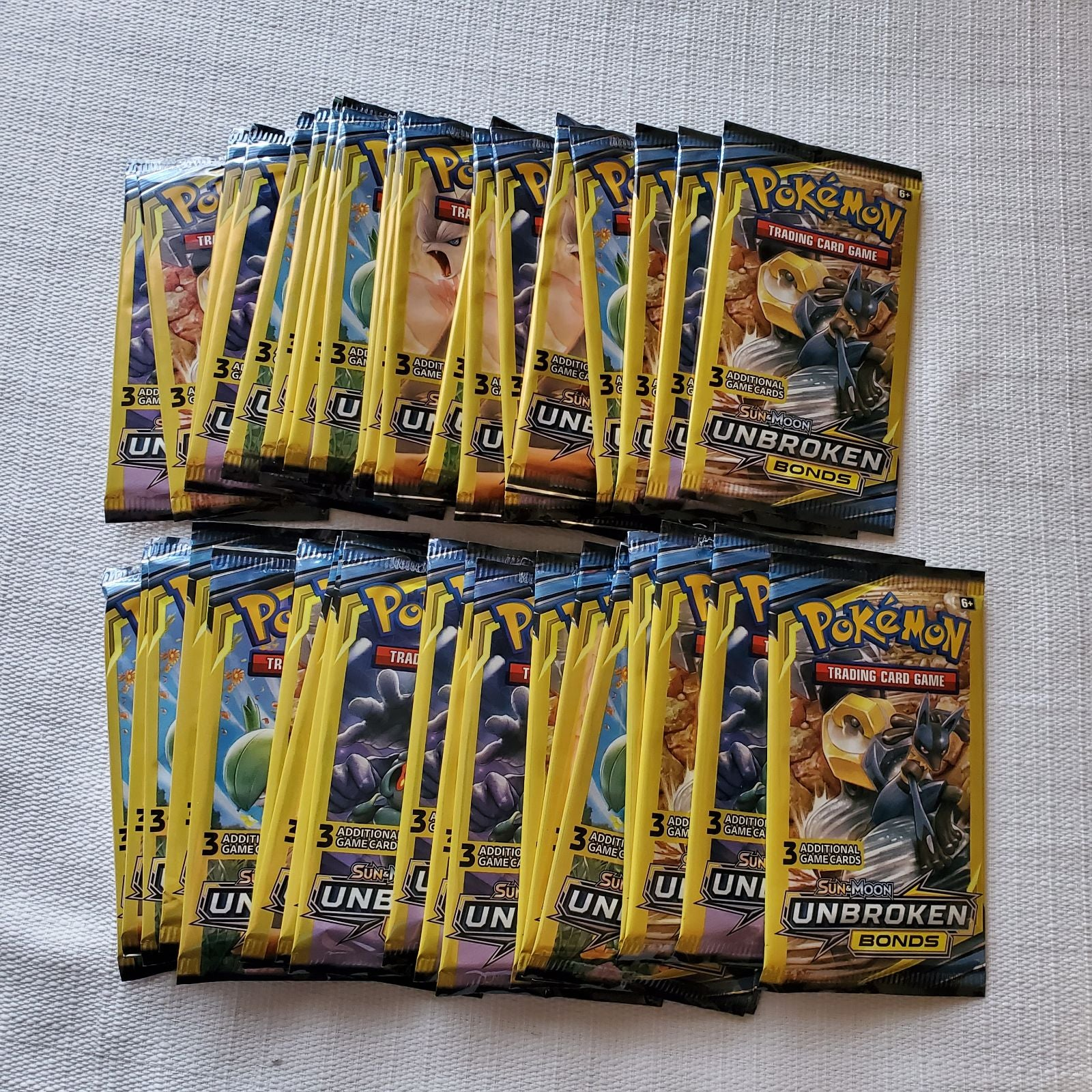 Pokemon Unbroken Bonds booster packs