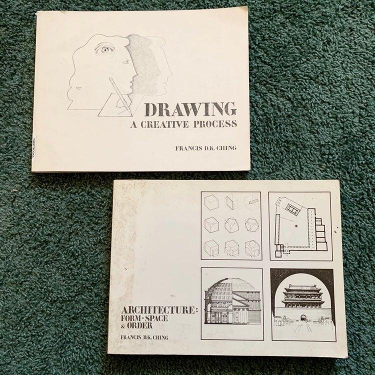 Francis d.k. Ching art books (2)