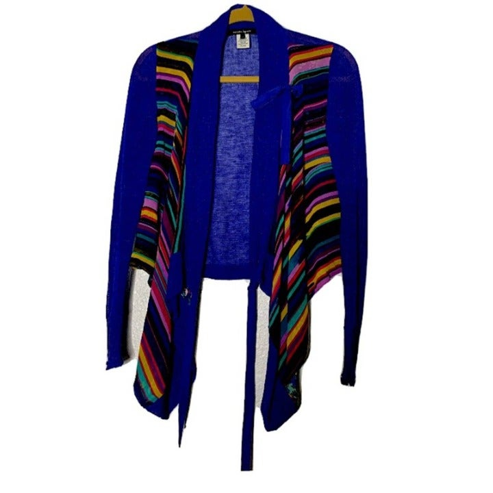 Nanette Lepore Silk Linen Cardigan XS