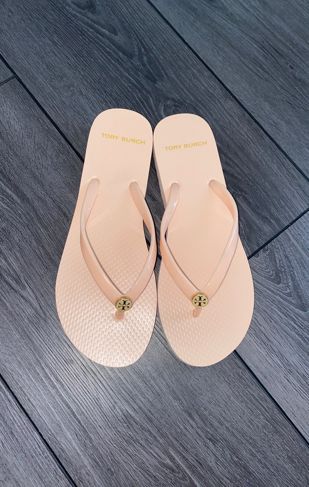 Tory Burch Solid Thin Flip Flop Sandals