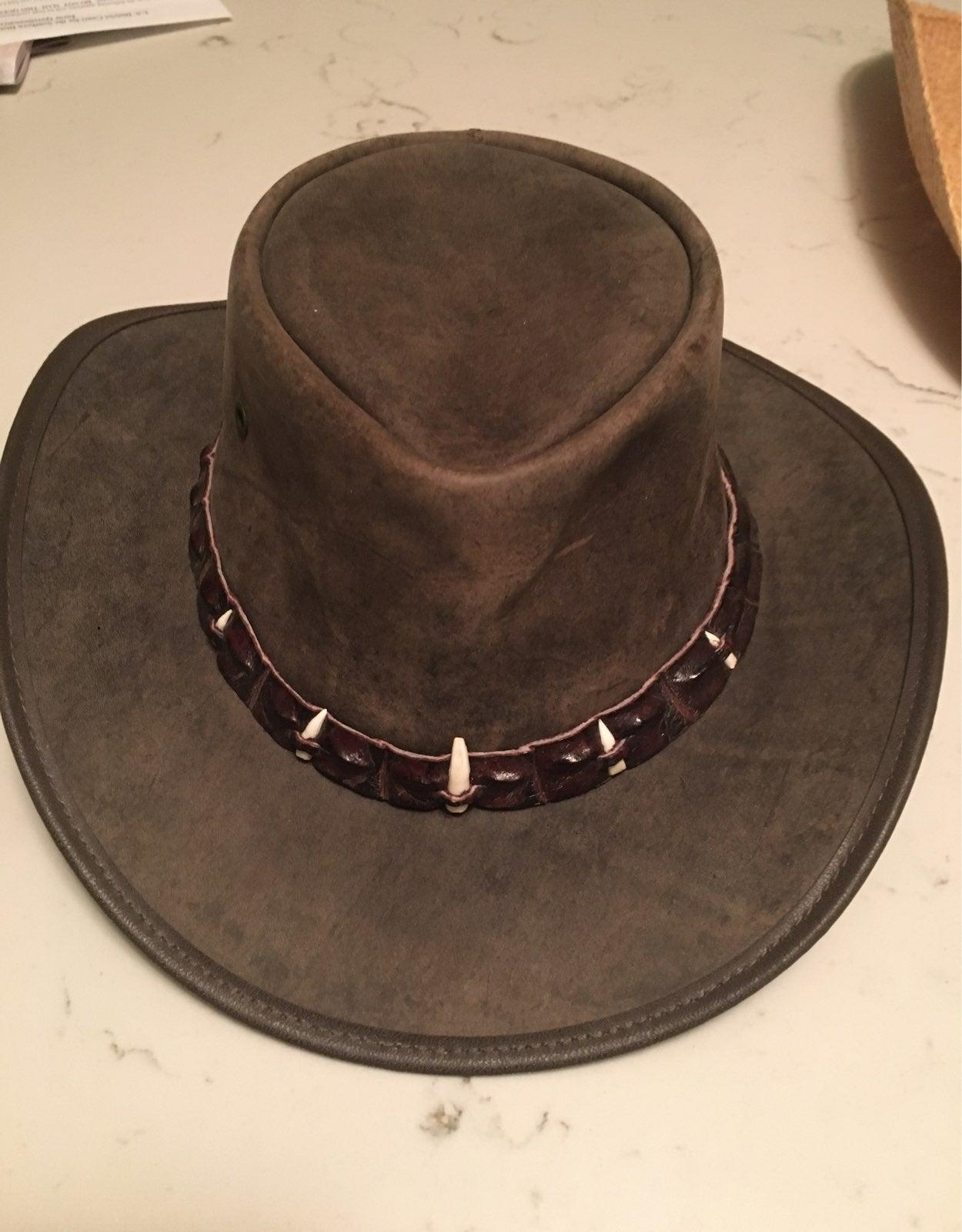 Barmah Hat 1033 outback crokodile M.
