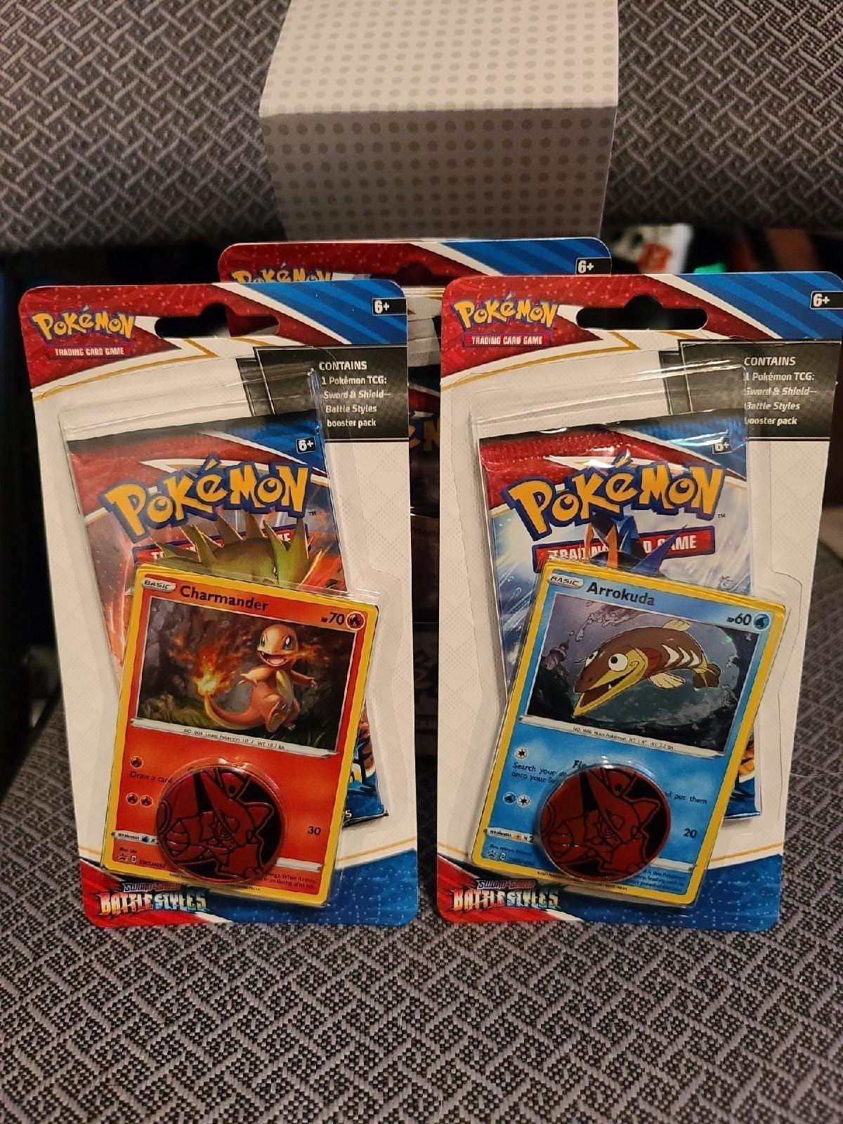12 Pokémon Battle Styles Blister Packs
