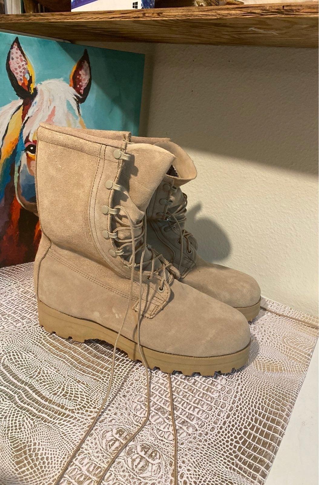 Vibram combat boots